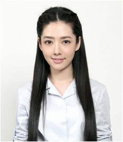《小时代》南湘郭碧婷黑直长发中_发型设计图片