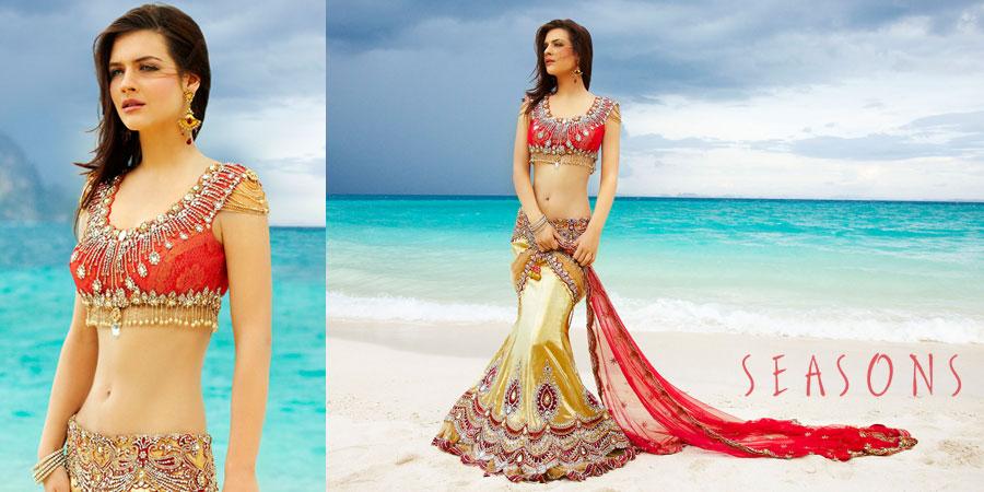 印度国宝级美女妮哈・达尔维最新写真集高清组图