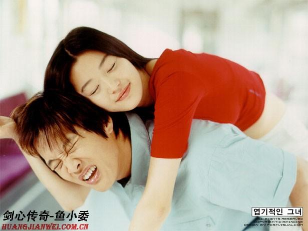 我的野蛮女友中文配音选段-我最爱的爱情片