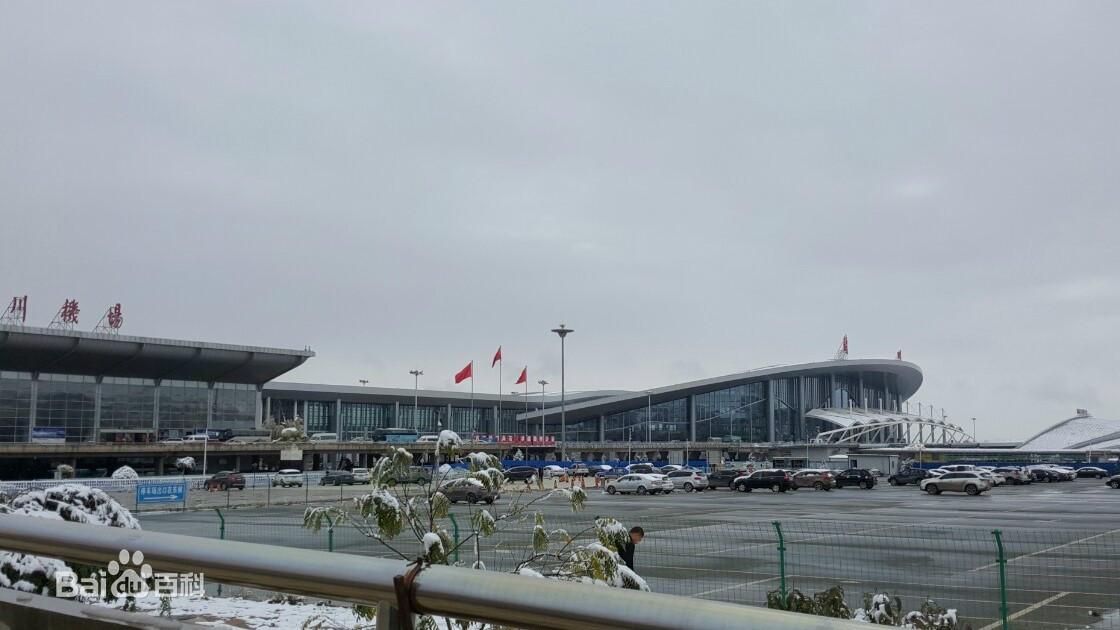 兰州中川国际机场图片 百度百科