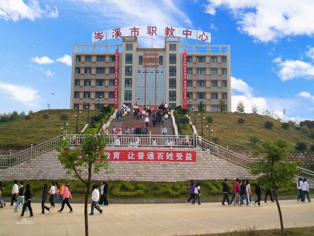 广西岑溪市中等职业技术学校图片
