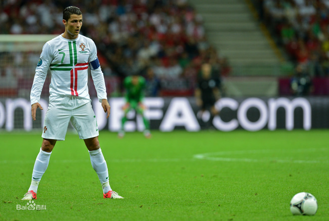 C罗 2012年欧洲杯