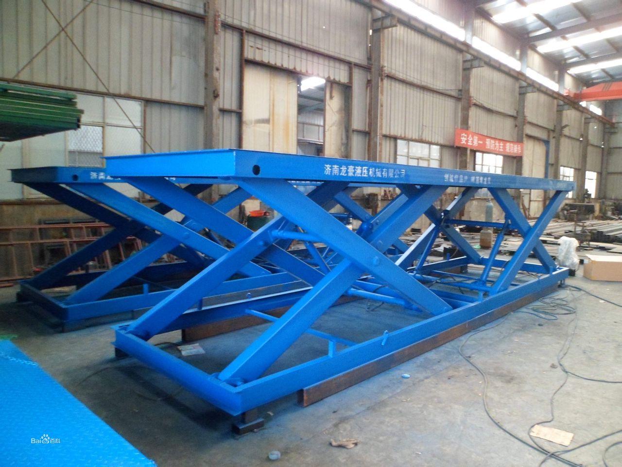 平台   是用于建筑物层高间运送货物的专用液压升降台产品主要用各种图片