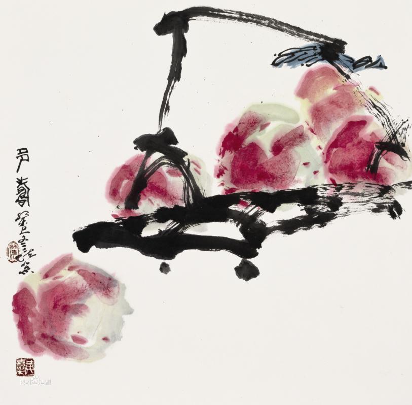 黄喜荣新国画作品