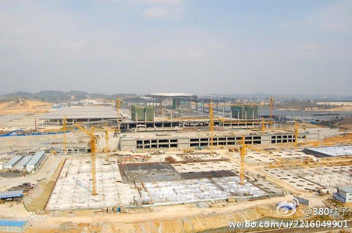 南宁东站建设
