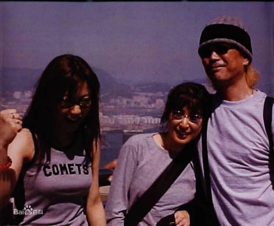 藤圭子与女儿和丈夫