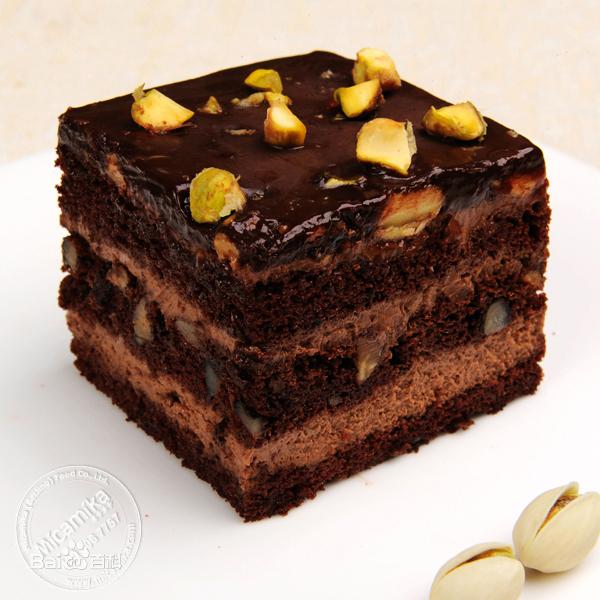 巧克力布朗尼图片_百度百科