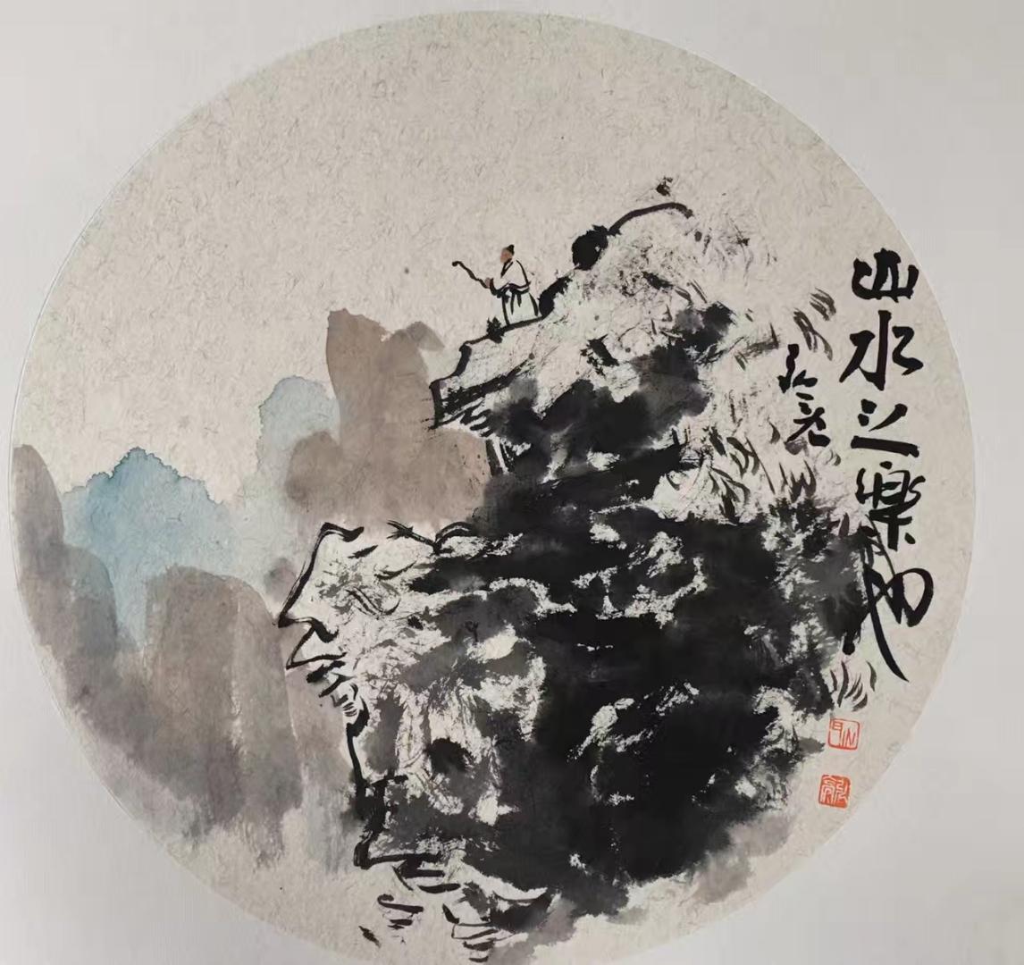 耿宏亮,男,又署弘亮,字子明,号尚石,1966年6月生,安徽萧县人,书画家图片