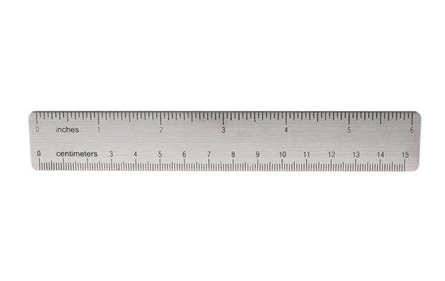 长度,常见的是1米的米尺和15厘米的短尺,但没有实际规限,所以长度由