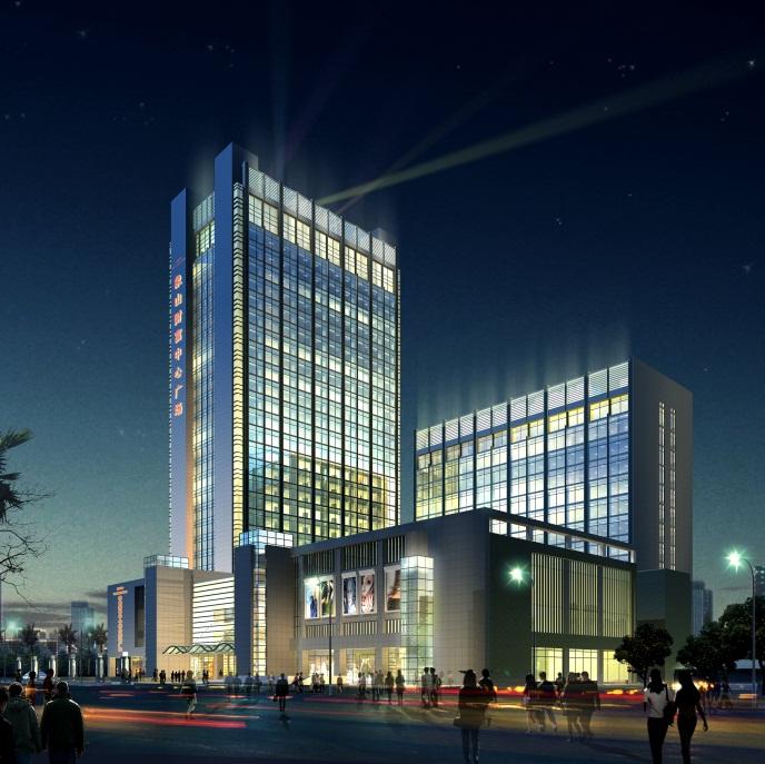 宁波财富中心 高清图片
