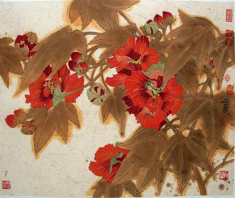 石兰,著名画家,石兰艺术工作室创始人.图片