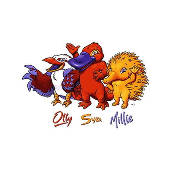 鸭嘴兽是悉尼奥运会吉祥物图片