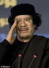 《时代》周刊封面上的卡扎菲