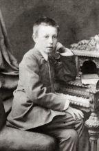 童年时期的拉赫玛尼诺夫