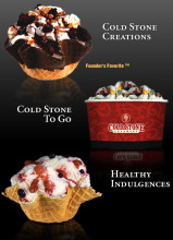 美国的COLD STONE冰淇淋