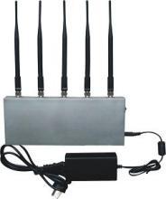 第五代5通道3G手机信号屏蔽器