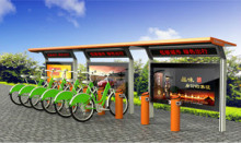 公共自行车棚