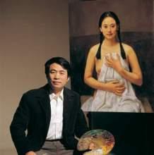 油画家杨飞云生活集