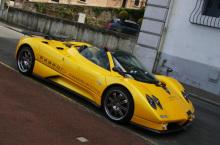zonda c12:绚黄色车身