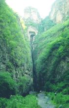 龙门涧景区景色