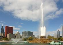 世界最大、最古老的喷泉之一——白金汉喷泉