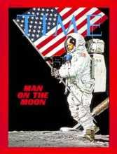 1969年《时代》封面之阿姆斯特朗登月