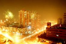 临淄区夜景