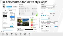 Metro 应用程序 UI 外观