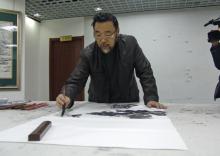 著名中国画和连环画画家陈和莲