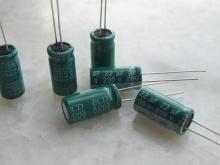 各种插件电容器