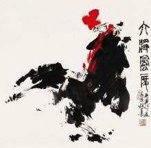 黄喜荣国画作品