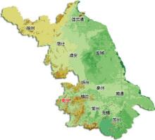 江苏地�_江苏地形地势