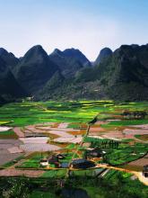 黄泥河自然保护区景色