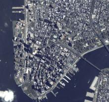 资源卫星得到的数据图像