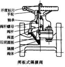闸板式隔膜阀
