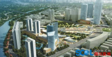 乐山青江新区CBD规划图