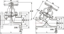 隔膜阀结构图图片