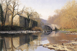 英国当代油画风景图片