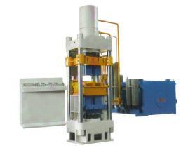 工作原理 四柱液压机的液压传动系统由动力机构,控制机构,执行机构图片
