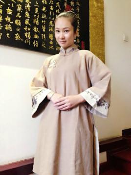 中式服装图片