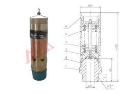 在压缩行程中,由于气缸容积的缩小,压缩空气经过排气阀的作用,经排气图片