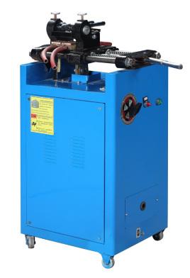 散热器闪光对焊机采用的是两台125kva的阻焊变压器为电源,气动压紧,顶图片