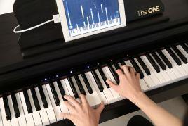 简单,有趣的     学习模式,辅以较为专业的曲谱难易设置,壹枱智能钢琴图片