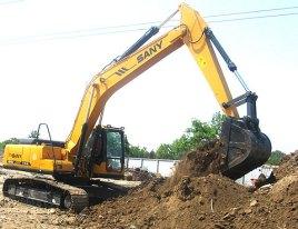 (液压挖掘机(工业设备))图片