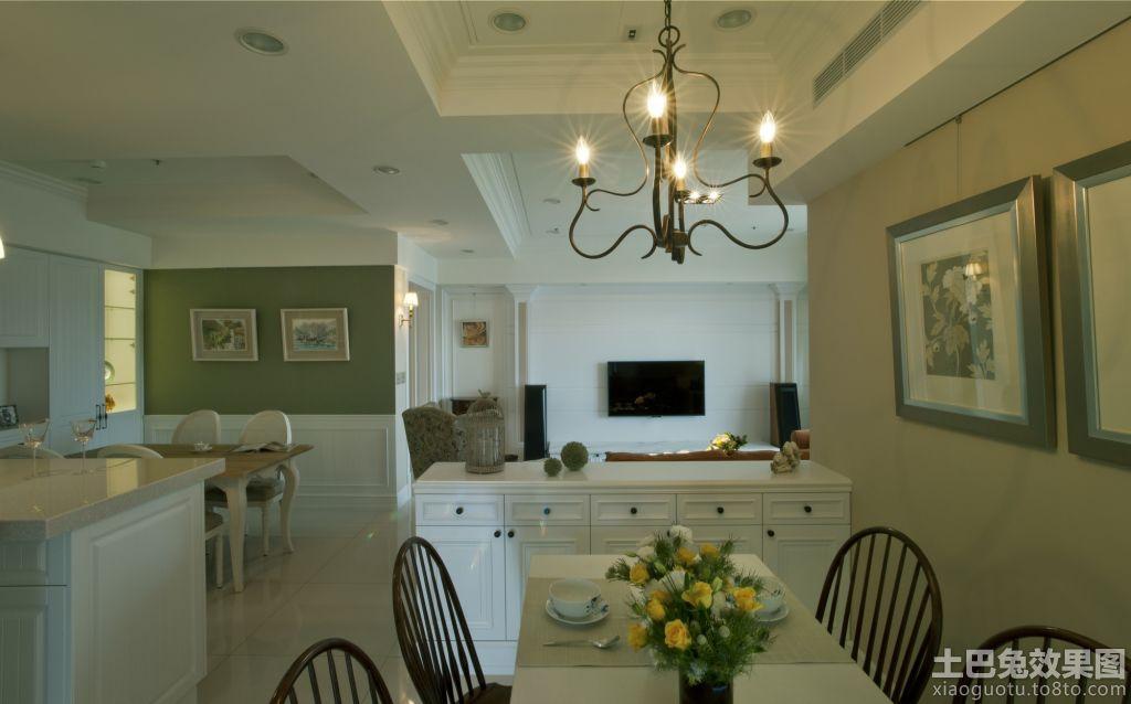 简约欧式风格家庭室内装修效果图