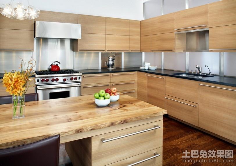 美式现代装修风格厨房整体橱柜效果图图片