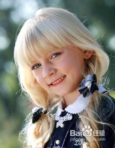 儿童发型扎法图片
