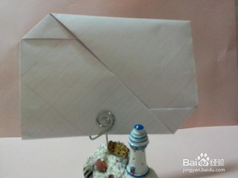 [创意折纸]如何折叠圣诞节信纸