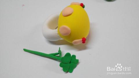 橡皮泥手工制作大全_粘土橡皮泥手工制作---小蘑菇戒指
