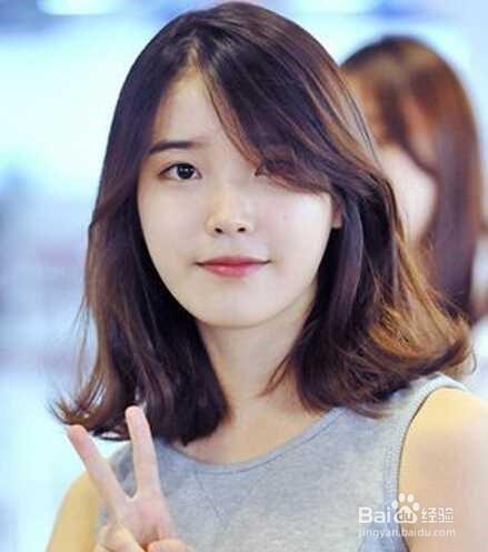淑女甜美的韩国发型女卷中长发图片